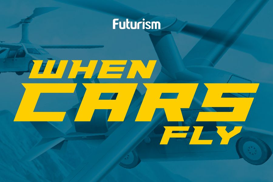 Flying Cars: A Future Buyer's Guide [Infographic]