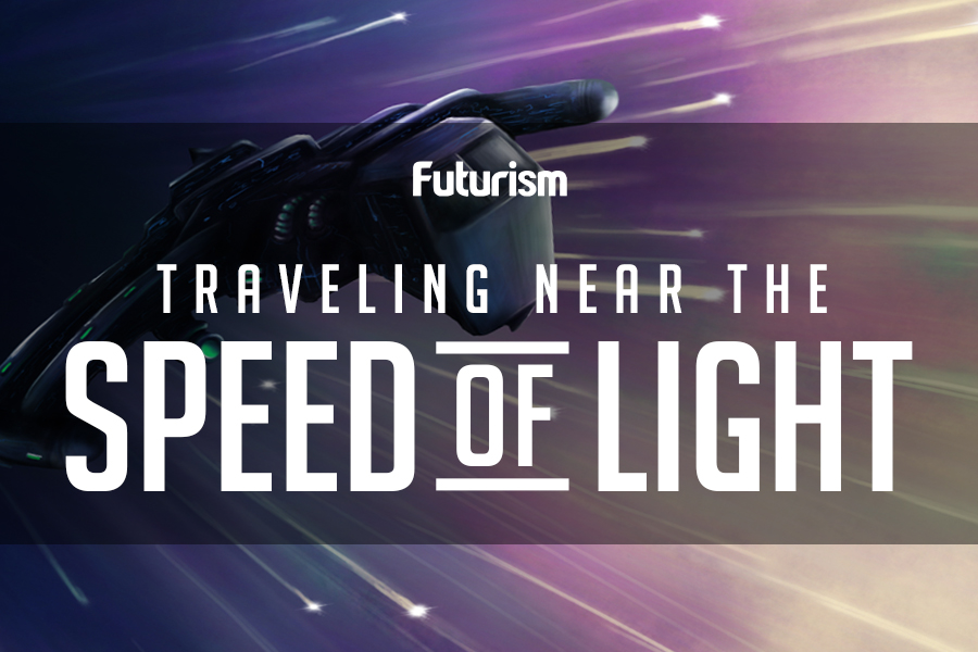 Traveling Near The Speed Of Light [Infographic]