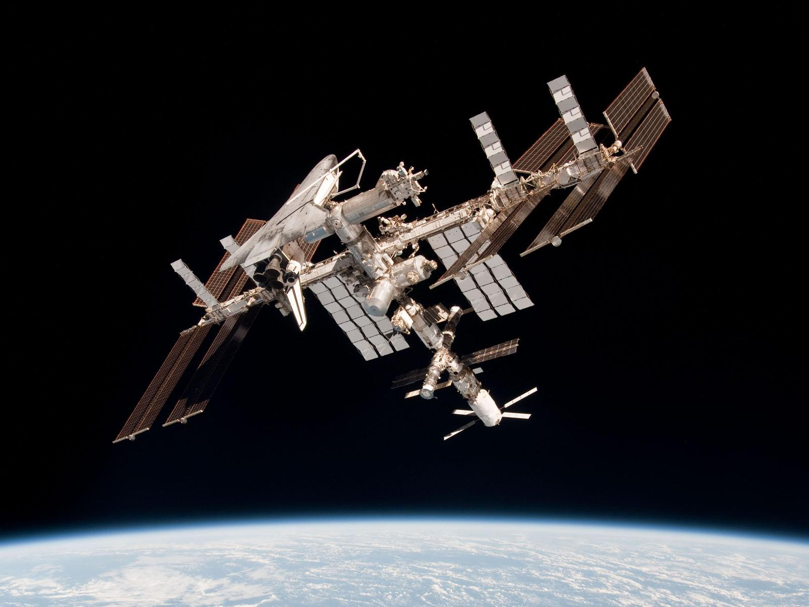 The International Space Station is scheduled to be decommissioned by 2024. European Space Agency.