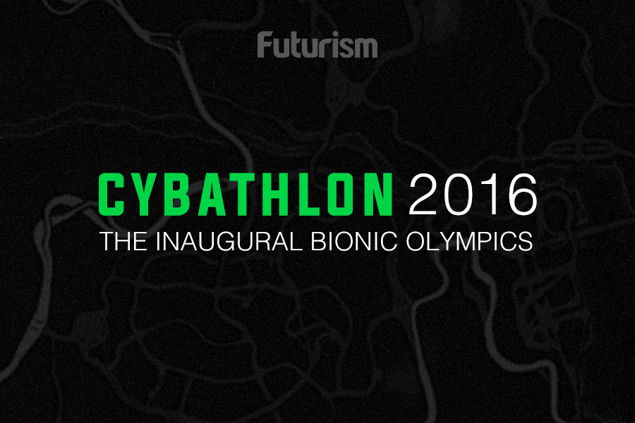 The First Cyborg Olympics [INFOGRAPHIC]