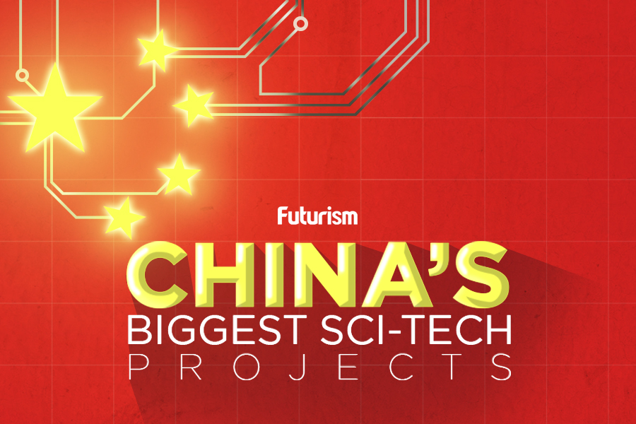 China's Most Ambitious Sci-Tech Projects [Infographic]