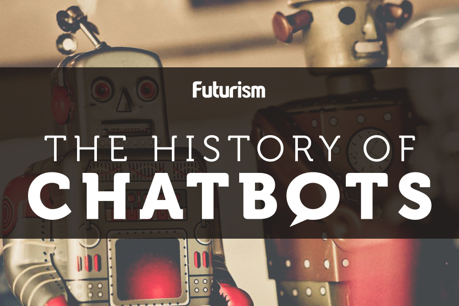 The History of Chatbots [INFOGRAPHIC]