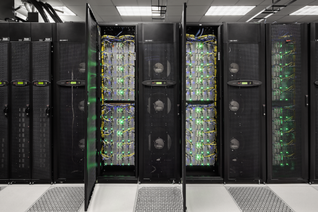 The Stampede supercomputer, which enabled the generation of the 200TB solution to the problem. University of Texas.