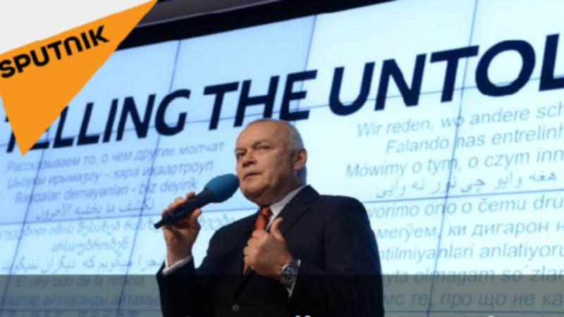 Sputnik chief Dmitry Kiselyov. Sputnik.