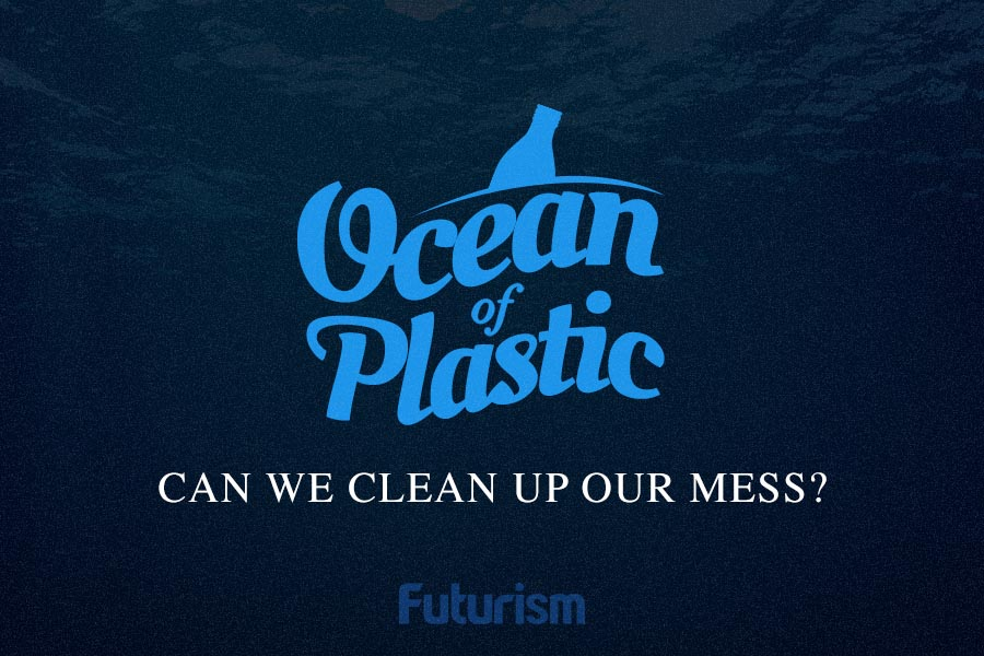 An Ocean of Plastic [Infographic]
