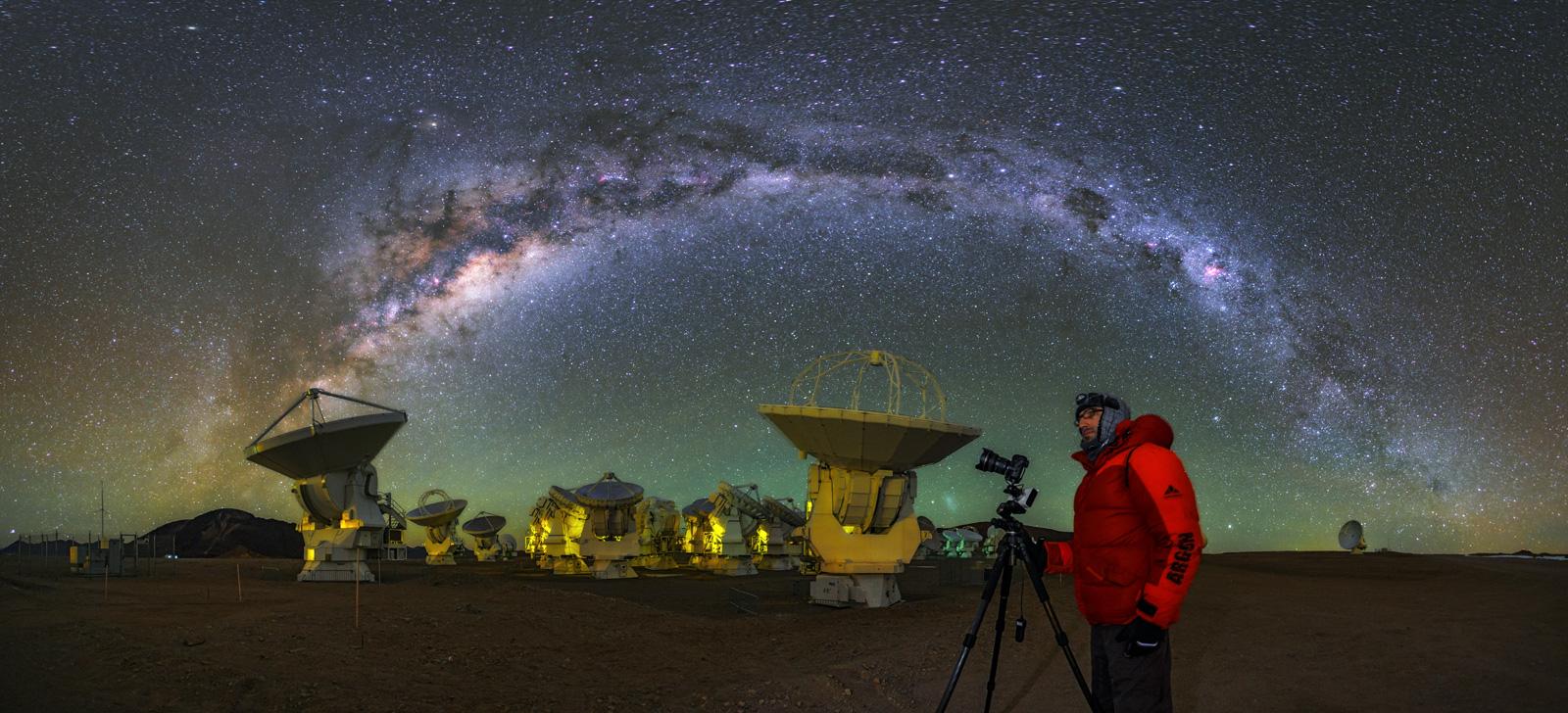 Photo: ALMA Observatory.