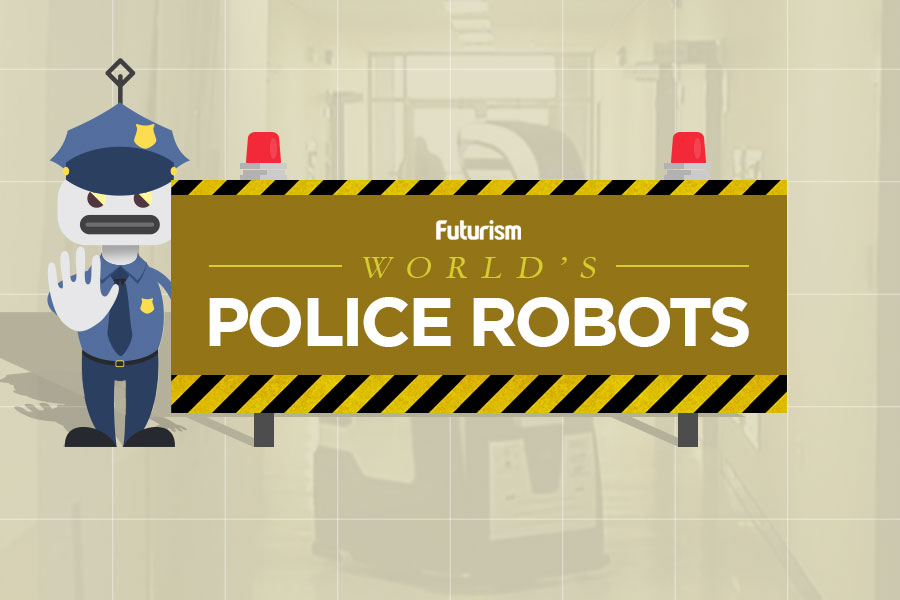 The World's Police Robots [INFOGRAPHIC]