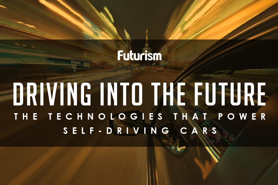 The Technologies That Power Self-Driving Cars [INFOGRAPHIC]