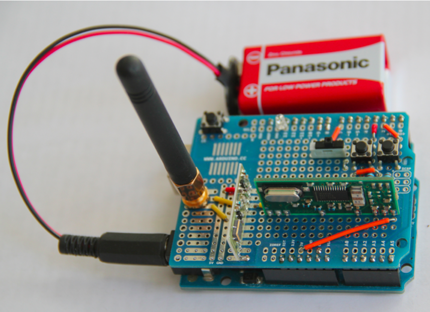 A cheap Arduino device is enough to hack a car.