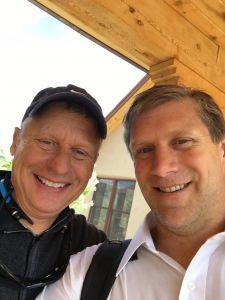Zoltan and Gary Johnson