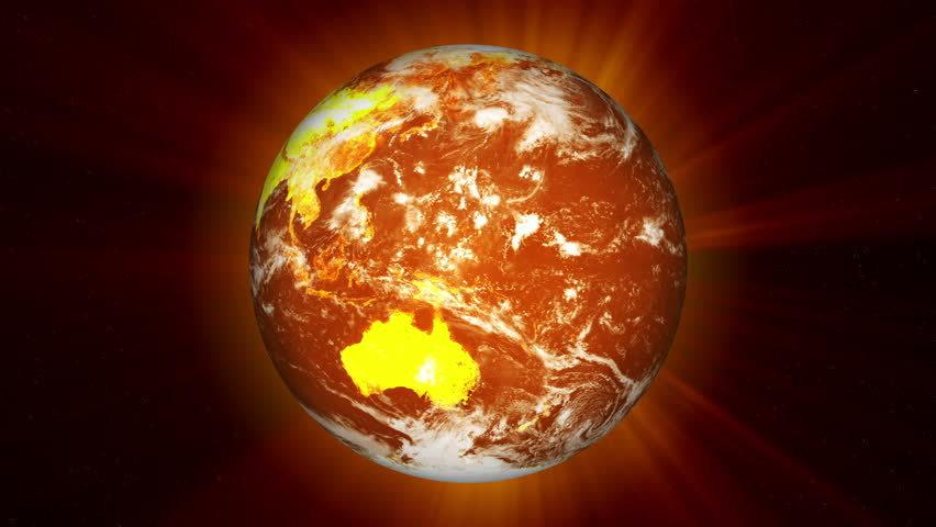 The earth has never been hotter. Image Source: Shutter Stock