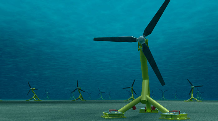 MeyGen tidal stream project. Image Source: utilityweek.co.uk