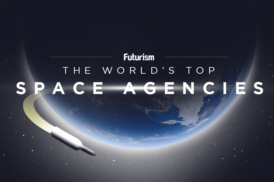 The World's Top Space Agencies [INFOGRAPHIC]