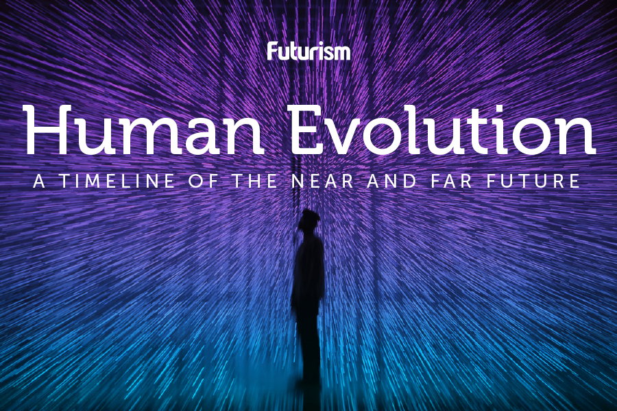 Human Evolution: A Timeline of the Near and Far Future [INFOGRAPHIC]