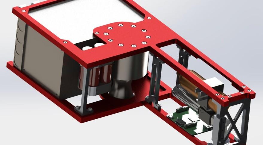 Cornell's CubeSat model Credit: Cislunar Explorers