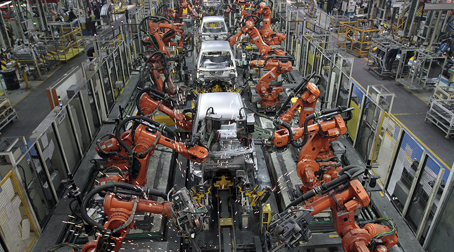 One of the many jobs that are already automated. Credit: Babu / Reuters