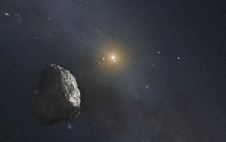 Kuiper Belt Object. Credits: ASA, ESA, G. Bacon (STScI)