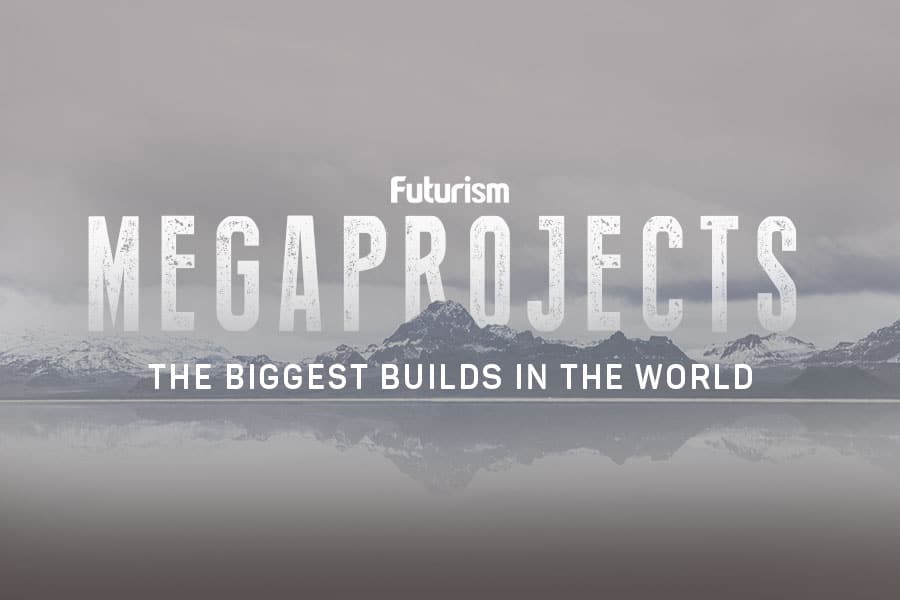 Megaprojects: The Biggest Builds in the World [INFOGRAPHIC]