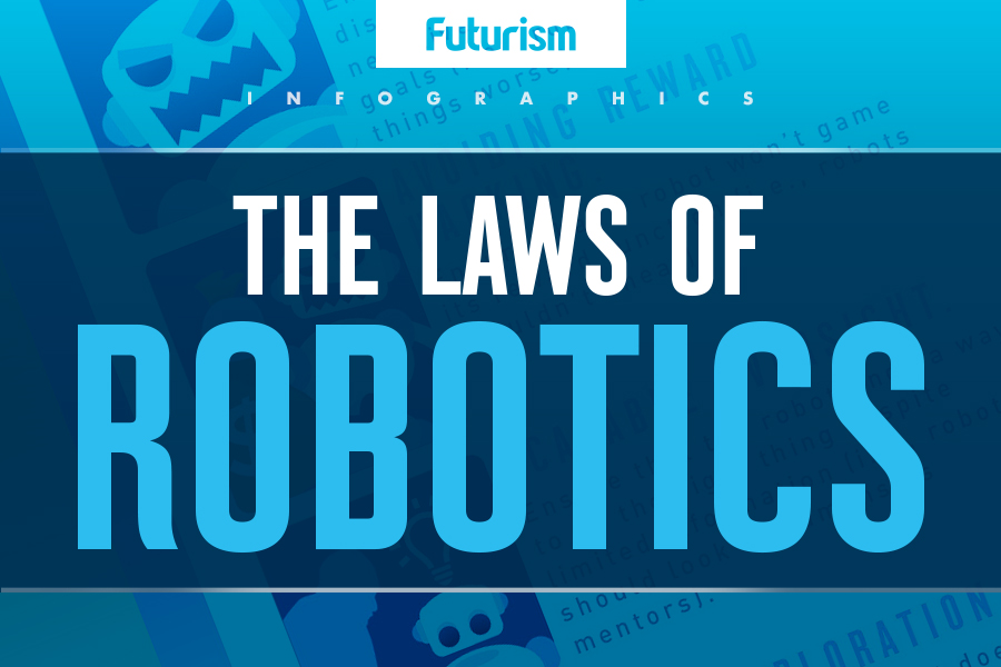 The Laws of Robotics [INFOGRAPHIC]