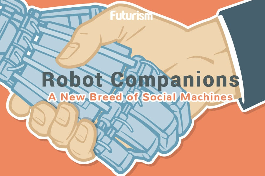Robot Companions: A New Breed of Social Machines [INFOGRAPHIC]