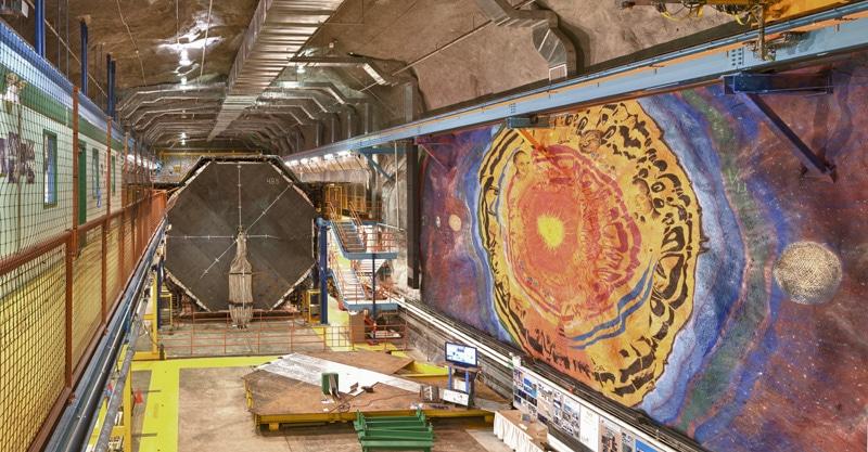 MINOS at Fermilab. Credits: Fermilab
