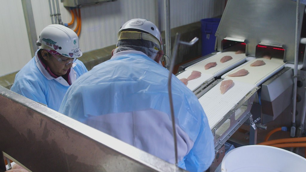 Testing meat for contamination. Image: Frontline, PBS.