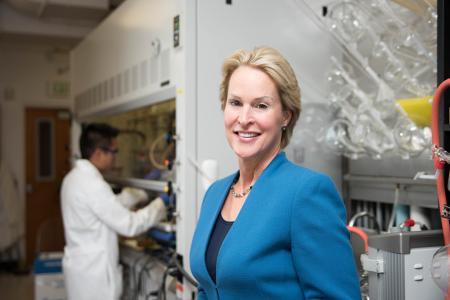 Frances Arnold won the 2016 Millennium Technology Prize for her directed evolution method. Image: Caltech