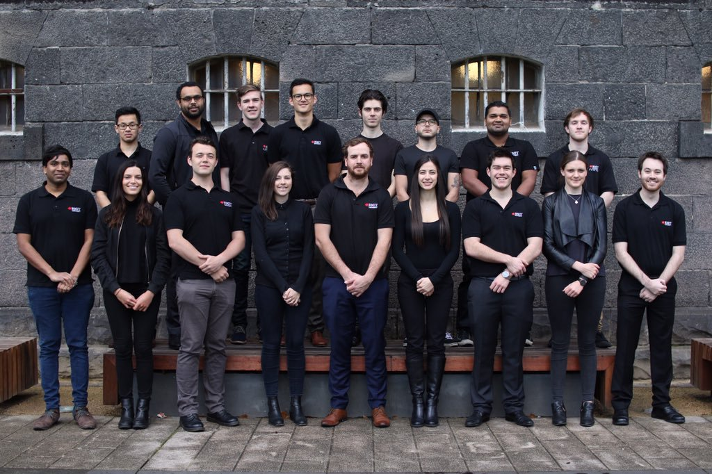 The VicHyper team. Image: VicHyper via Tweeter