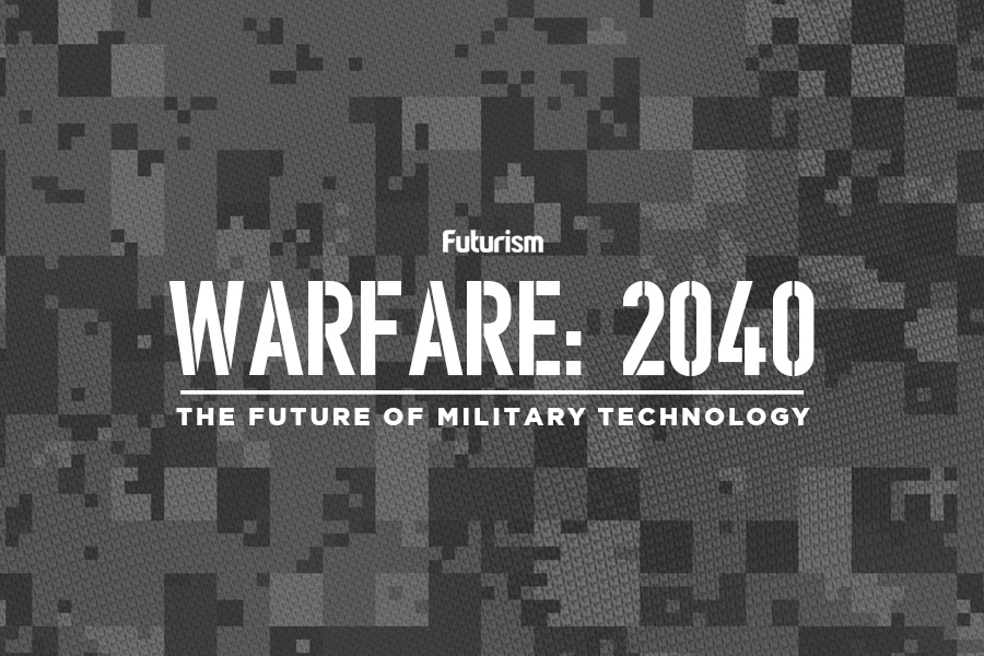 Warfare 2040: The Future of Military Technology [INFOGRAPHIC]