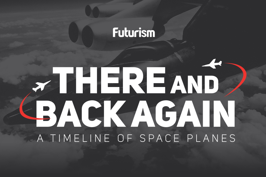 There And Back Again: A Timeline of Space Planes [INFOGRAPHIC]