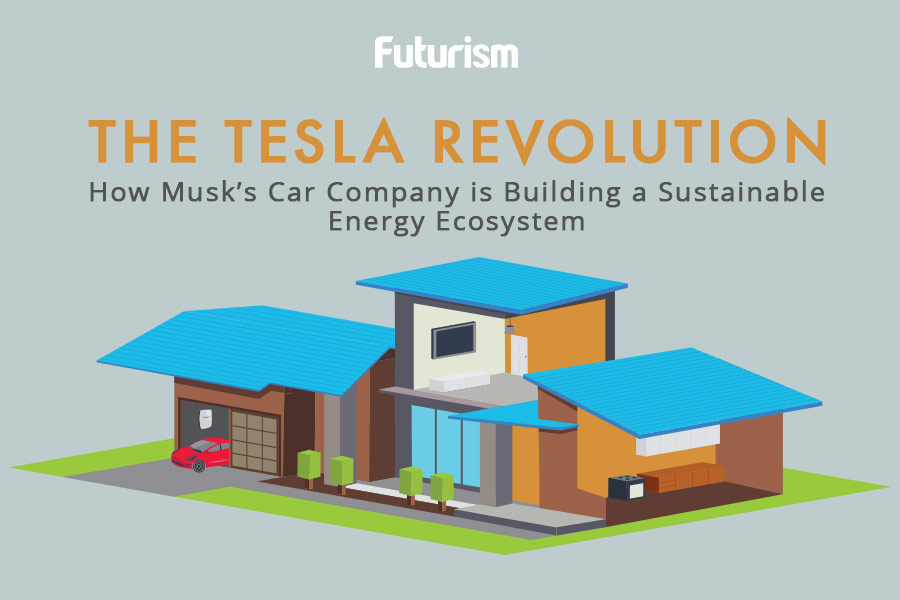 The Tesla Revolution [INFOGRAPHIC]