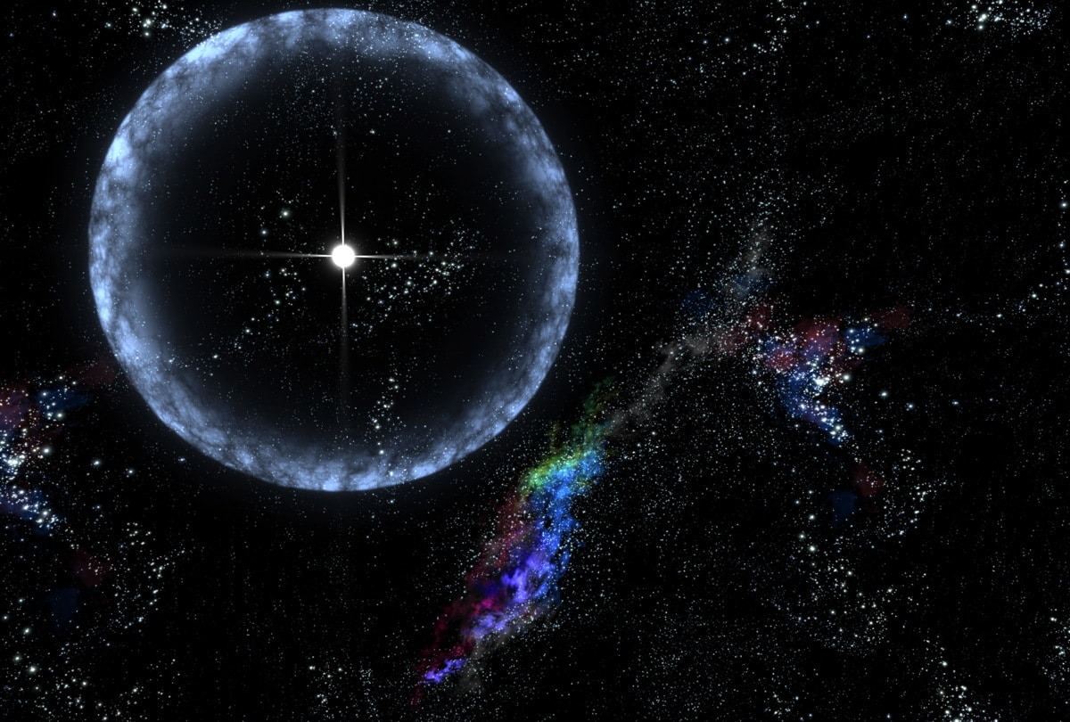 An artist's conception of FRBs. Credits: NASA
