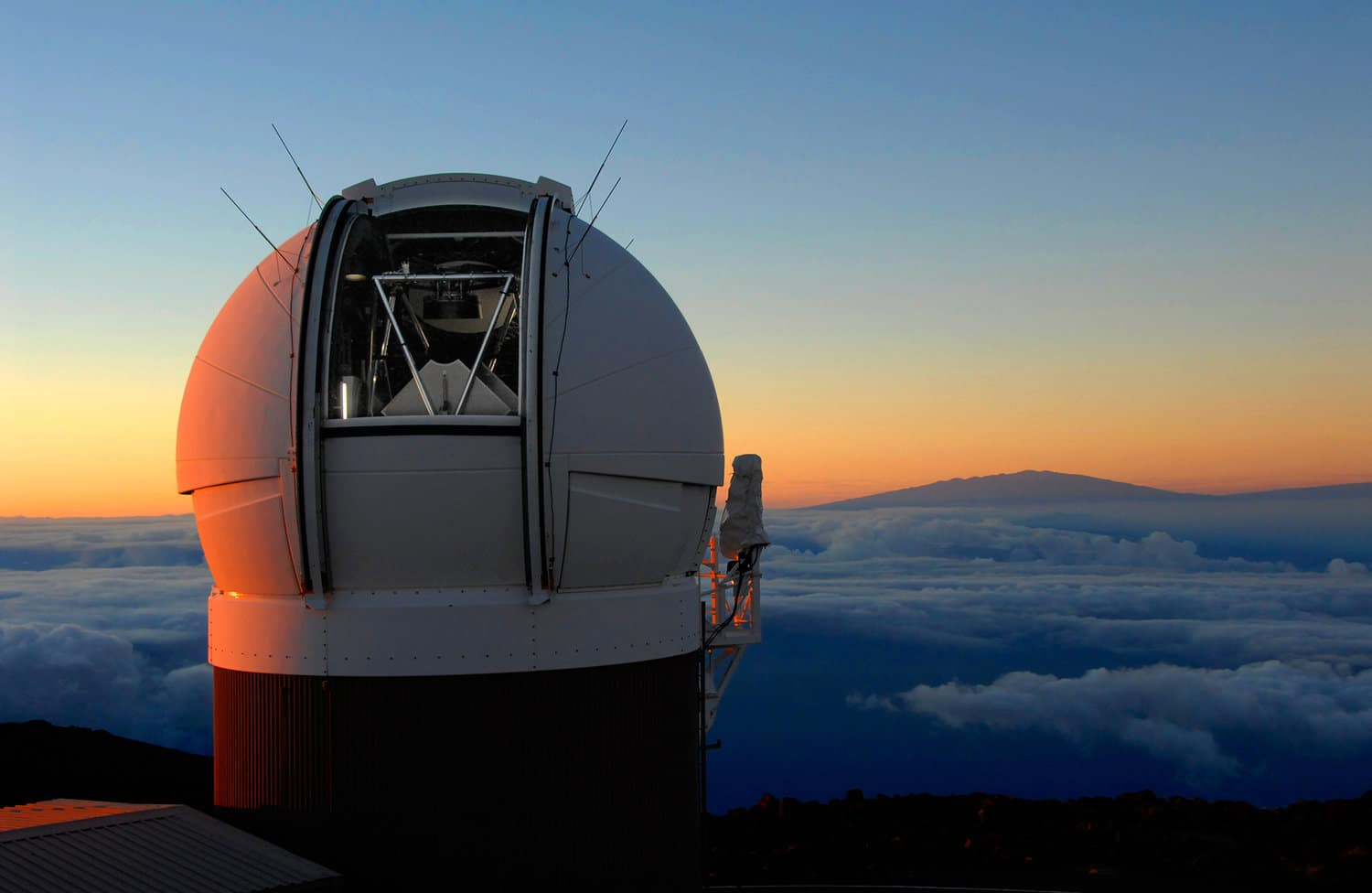 A telescope in Hawaii first spotted the asteroid. Rob Ratkowski/Courtesy of Pan-STARRS