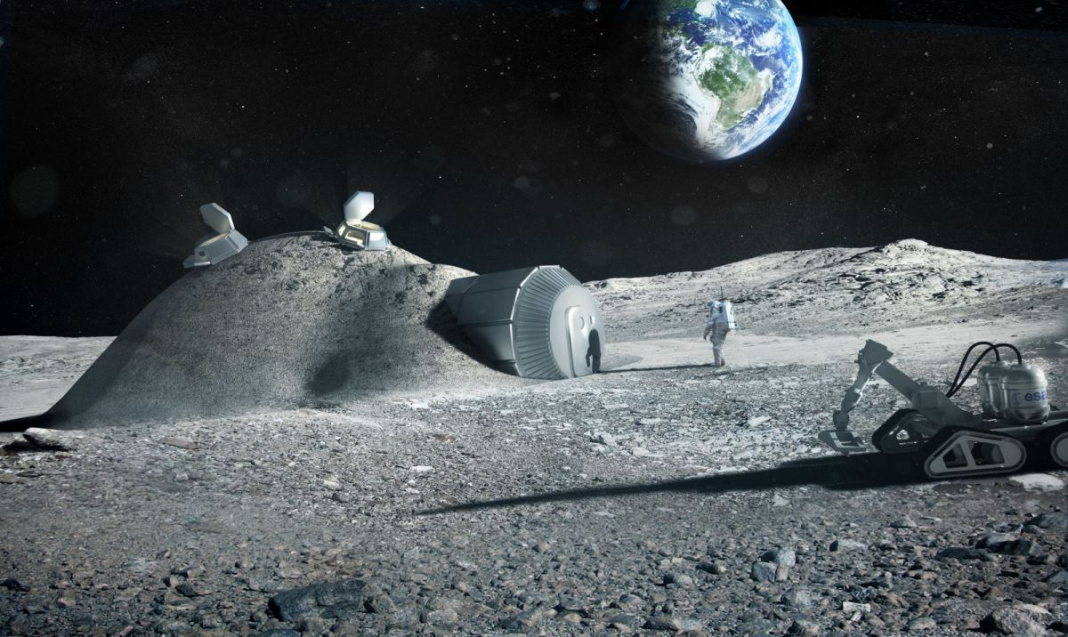 Artist's concept of a Image: ESA, Foster + Partners
