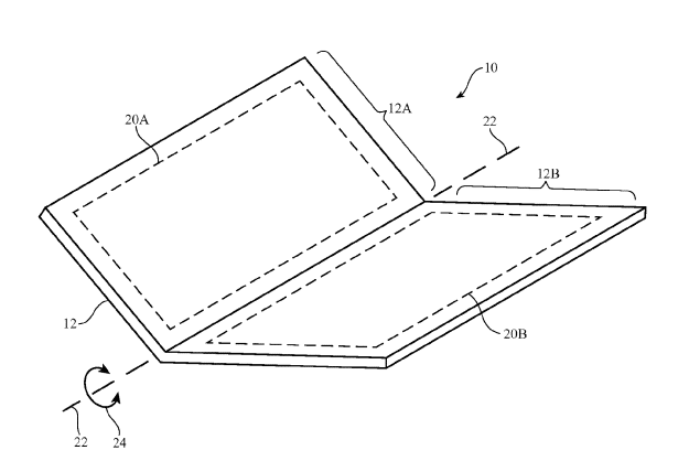 Is this the future of iPhones? Credits: USPTO/Apple
