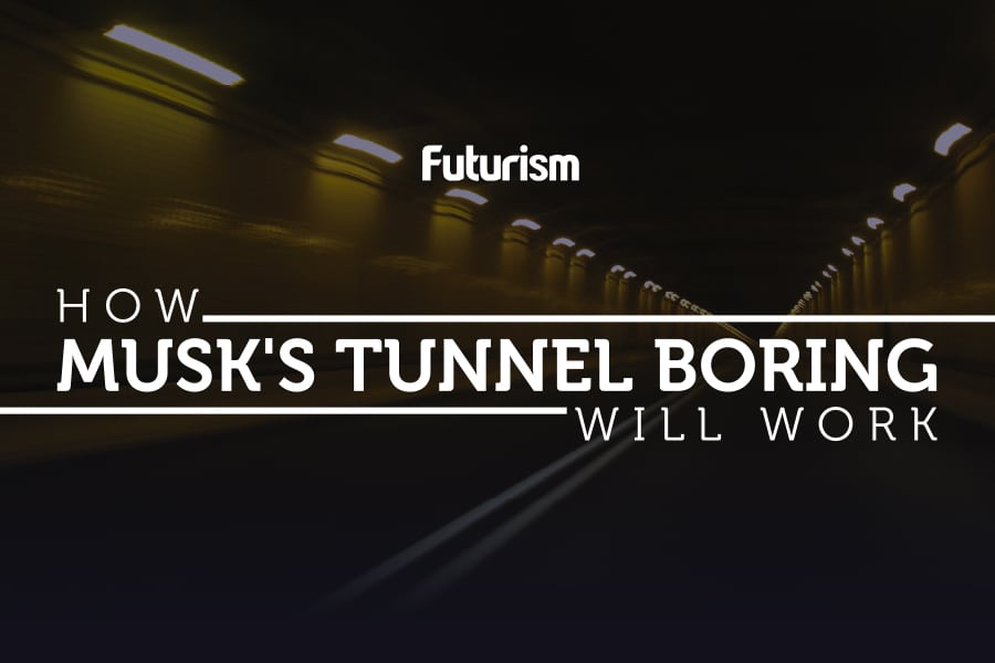 How Musk's Tunnel Boring Would Work