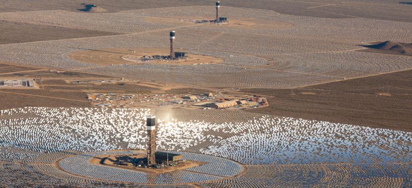 Solar farm.
