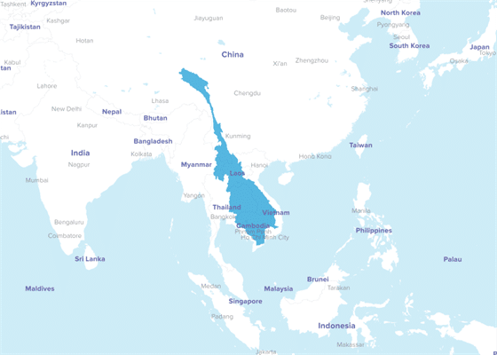 Greater Mekong Subregion. Conservation International.