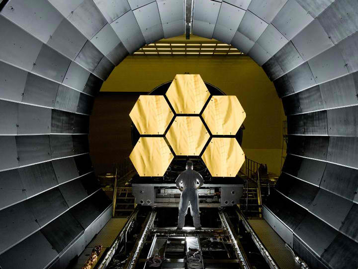 The James Webb Space Telescope. Image: NASA.
