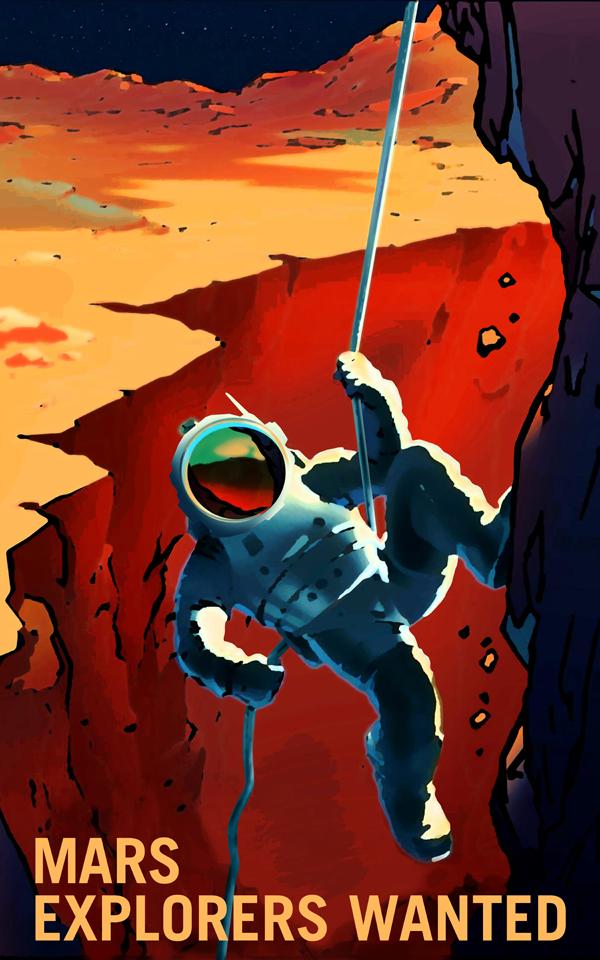 NASA's recruitment poster. NASA