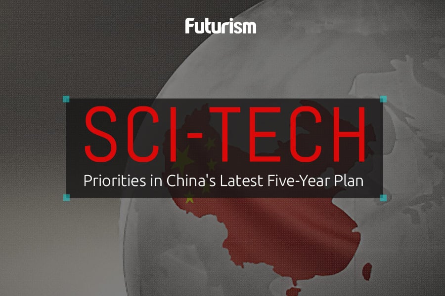 Sci-Tech Priorities in China's Latest Five Year Plan