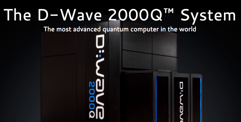 D-Wave, screenshot