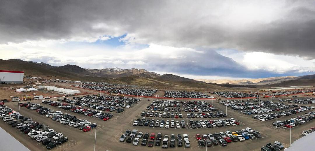 The Gigafactory site via Wendy Scott