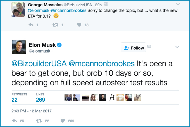 Get Ready. Elon Musk Says a Tesla Update is Coming in 10 Days.
