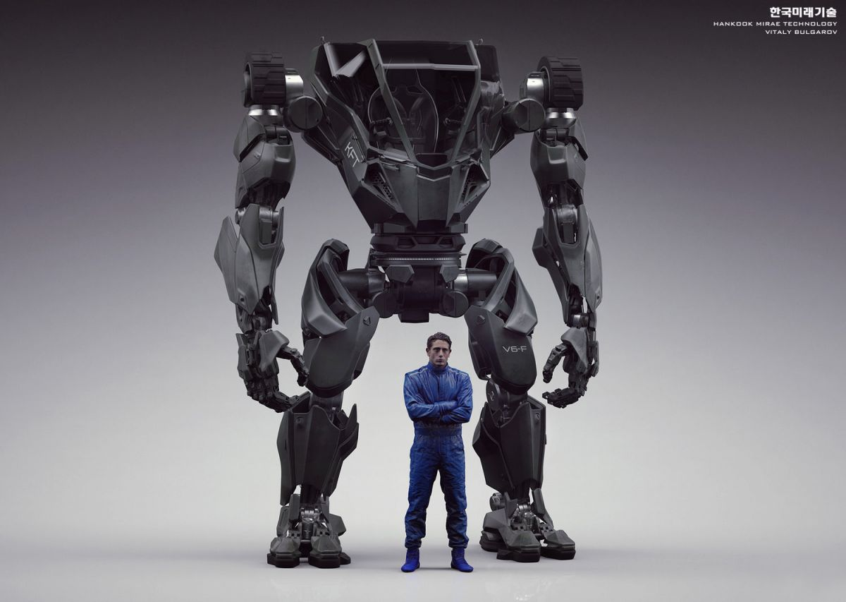 Amazon S Ceo Just Demoed The World S First Manned Bipedal Robot
