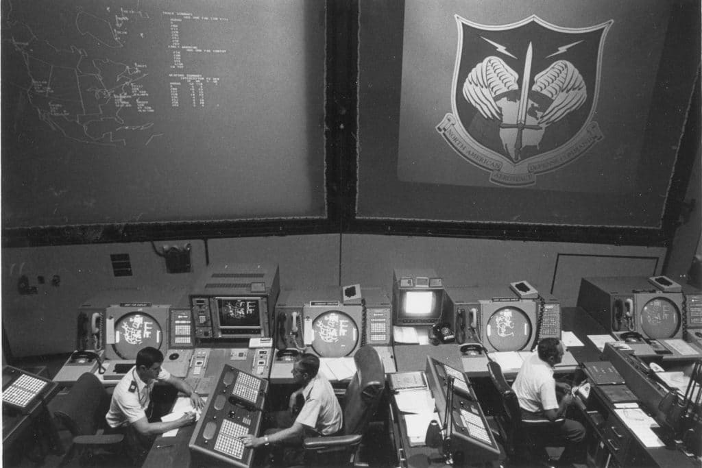 NORA command post, c. 1982. (Source: US National Archives)