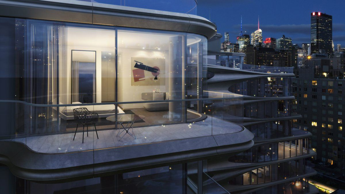 A New York City Apartment With Automatic Valets And Private Imax Theater