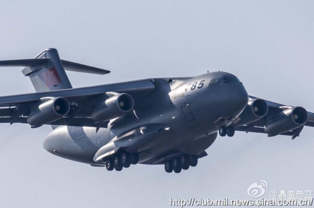 The Y-20. Image credit: club.mil.news.sina.com.cn