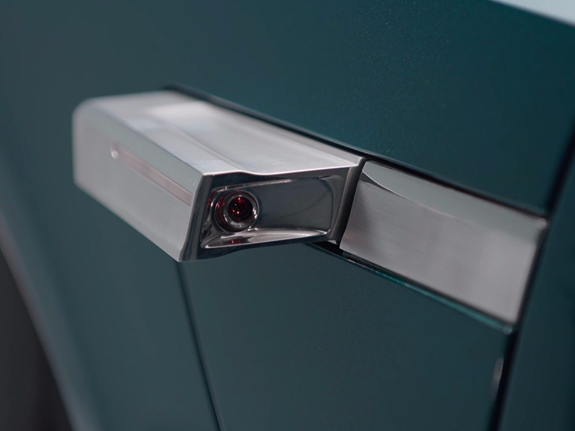 Cameras for side mirrors. Image credit: Audi