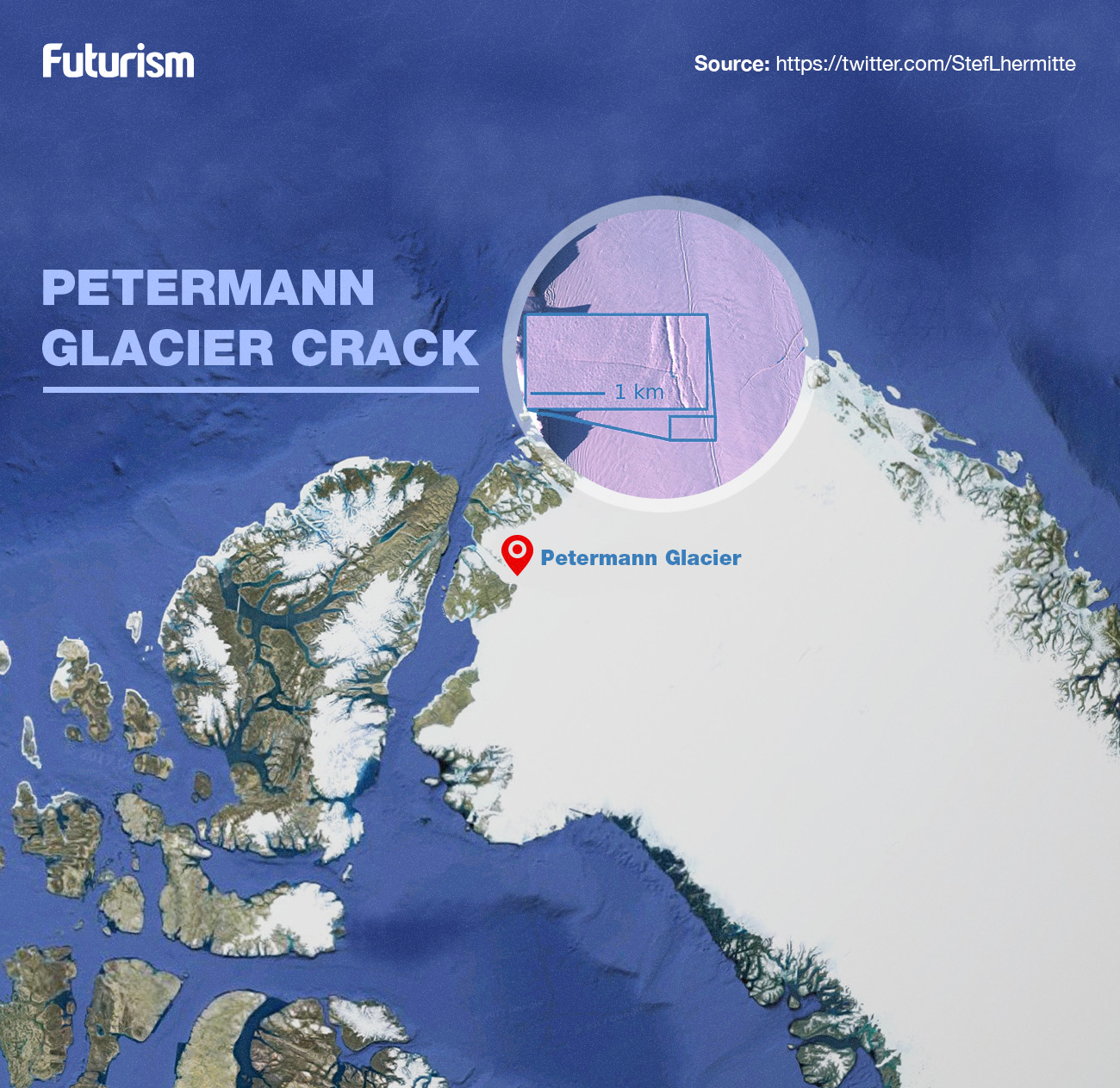 *3* A Crack in One of Greenland's Glaciers Has Scientists Baffled and Worried